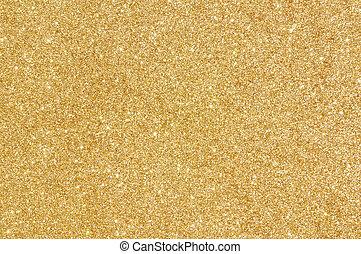 goldenes, glitzer, beschaffenheit, hintergrund