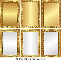 goldenes, hintergruende