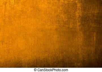 goldenes, metall, hintergrund