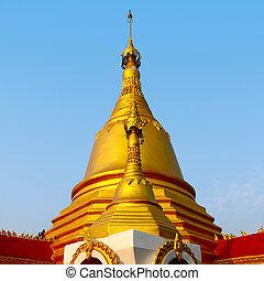 goldenes, pagoda.