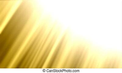 goldenes, scheinen, -, abstrakt, hintergrund