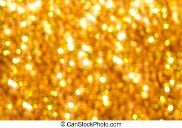 goldenes, verschwimmen, hintergrund