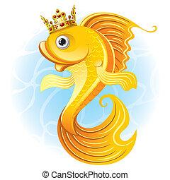goldfish, magia