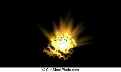 goldmine Explosion