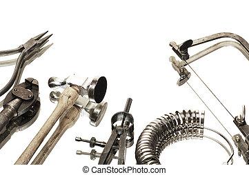 goldsmiths, herramientas