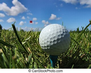 Golf - A perfect day for golf! (If I only knew how to play ...