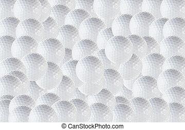 Golf Background - Golf ball background