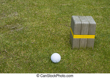 golf ball at new game