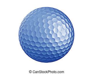 golf, ball-blue