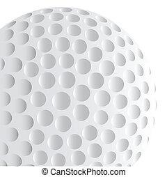 Golf Ball Detail