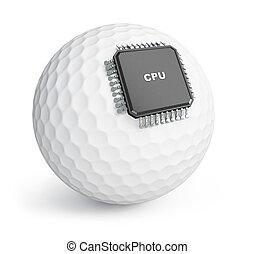 golf ball microchip