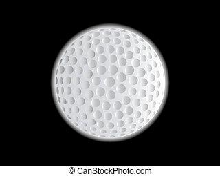 Golf Ball Moon