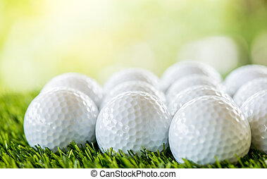 golf ball row