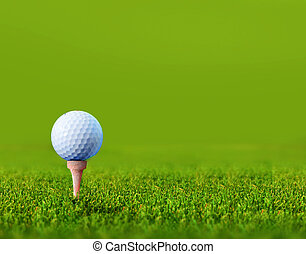 golf ball with space for copy
