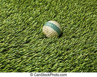 golf ball with stripe