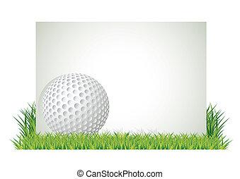 golf, bandera