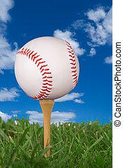 golf, base-ball, tee