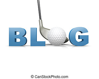 golf, blog