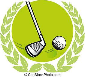 golf, campeón