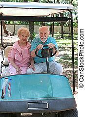 Golf Cart - Speed Demon