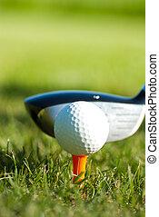golf close up