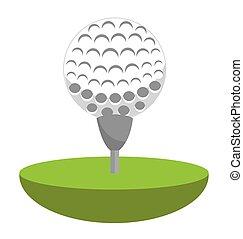 golf club ball icon