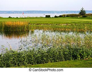 Golf club in Riga