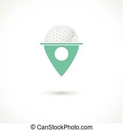 Golf club tag