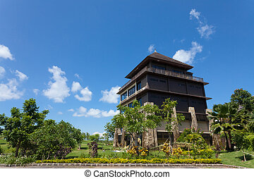 Golf Clubhouse - Golf clubhouse building in Bali, Indonesia