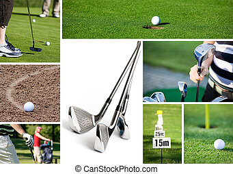 Golf - Collection of golf related images