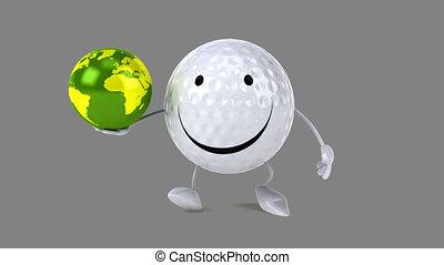 Golf - Computer animation