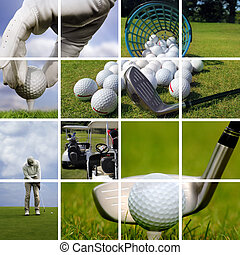golf, concept
