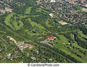 Golf Course aerial