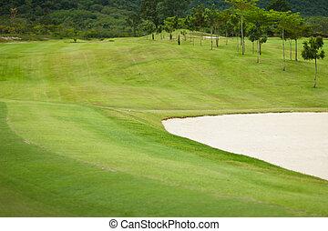 golf course at Thailand