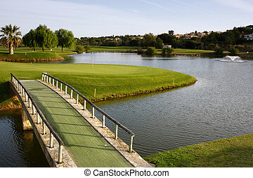 Golf Course - Golf course on Algarve, Portugal