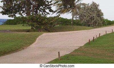 Golf course in Montego Bay, Jamaica