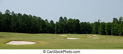 Golf Course Sand Traps - Sand traps at golf course athens...