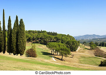 Golf course - Beautiful golf course, situated in the hills...