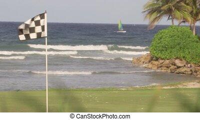 Golf course tropical island holiday - A Caribbean Resort...