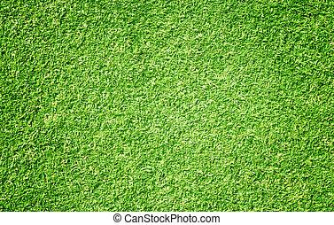 golf cursus, groen gazon
