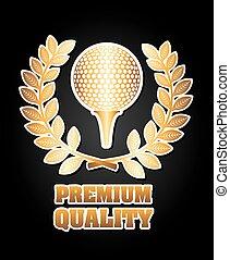golf design  - golf graphic design , vector illustration