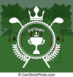 golf, diseño