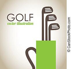 golf, disegno