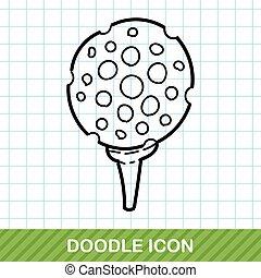 golf doodle
