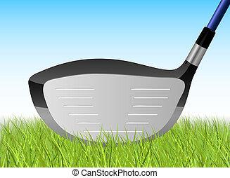 Golf Driver Illustration