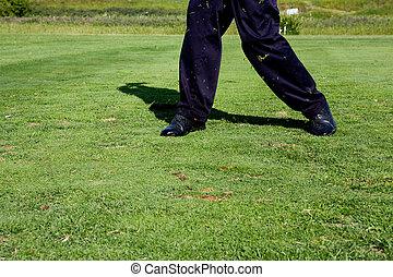 golf elfordul
