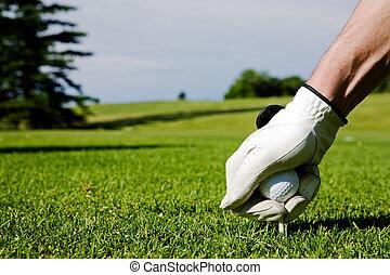 golf elkezdődik
