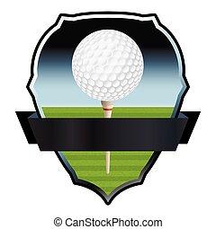 Golf Emblem Illustration - An illustration for a golf emblem...