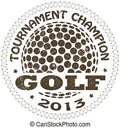 golf, etiket