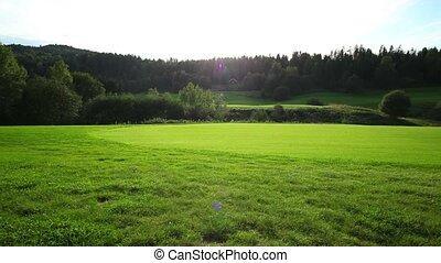Golf field in Nowray.